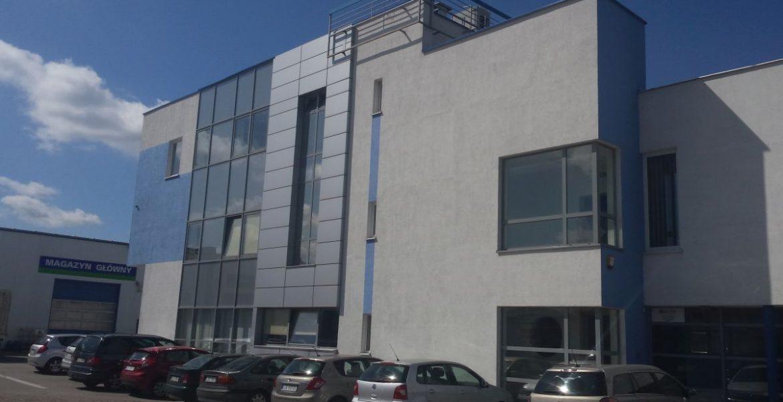 Moto Budrex budynek administracyjno-biurowy