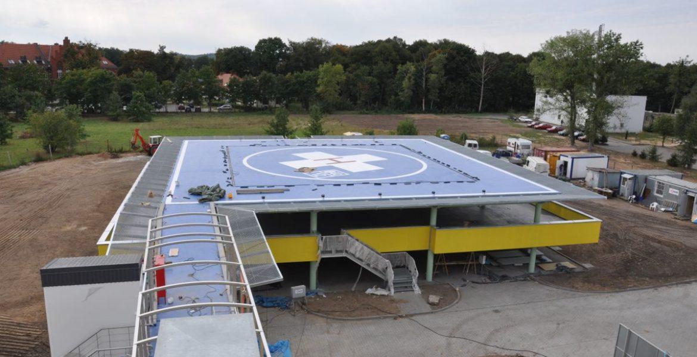 Lądowisko dla helikopterów w Brodnicy