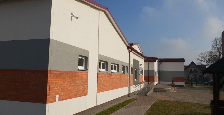 Budynek sportowo-świetlicowy w Przyłękach